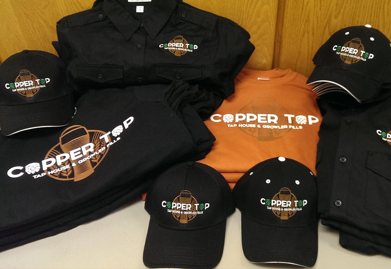 Copper Top Taphouse - Apparel