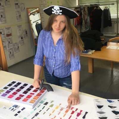 Unsere Piraten-Praktikantin