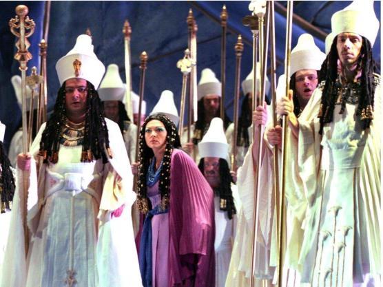 Aida alla Dubai Opera - Photo credit: Teatr Wielki