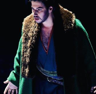 Antonio Poli come Macduff in Macbeth
