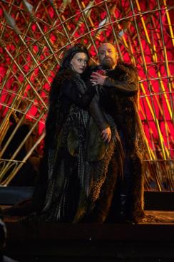 Saioa Hernández nei panni di Lady Macbeth a Macerata - Photo credit: Tabocchini