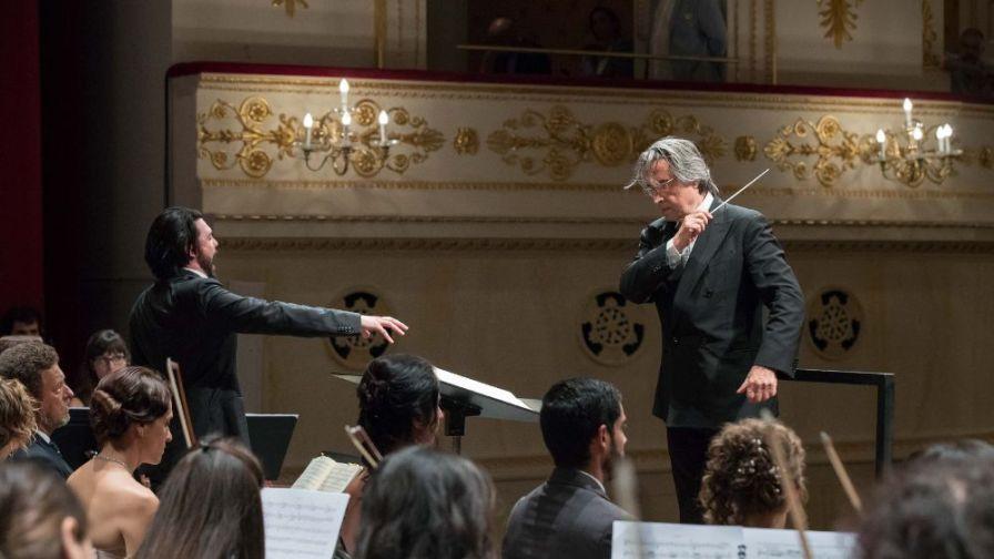 Luca Micheletti canta nelle Nozze di Figaro diretto da Riccardo Muti