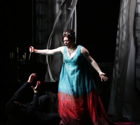Saioa Hernández è Tosca al Teatro alla Scala - Photo credit: Brescia e Amisano