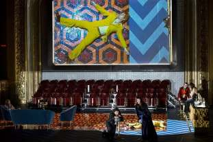 Enea Scala nei Racconti di Hoffmann al Teatro La Monnaie di Bruxelles - Photo credit: B. Uhlig
