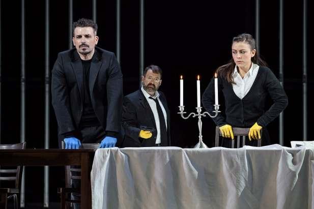 Enea Scala è Leopold in La Juive, Opera Vlaanderen - Photo credit: Anémie Augustijns
