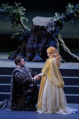 Enea Scala con Ruth Iniesta nella Lucia di Lammermoor al Filarmonico di Verona - Photo credit: Ennevi