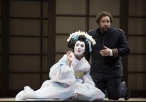 Maria José Siri in Madama Butterfly, Teatro alla Scala - Photo credit: Brescia e Amisano