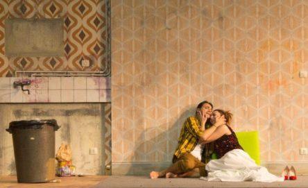 Francesco Demuro con Mariangela Sicilia nella Bohème con regia di Graham Vick al Comunale di Bologna