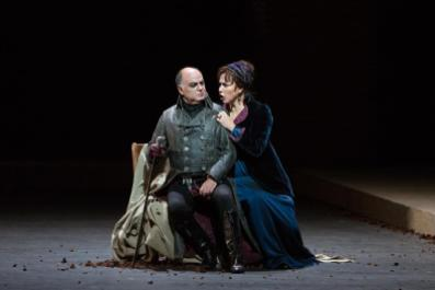Roberto Frontali con Oksana Dyka in Tosca al Metropolitan di New York