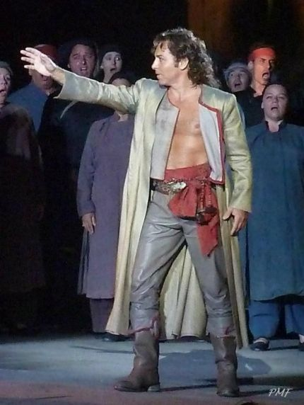 Roberto Alagna è Manrico nel Trovatore