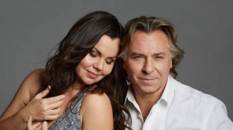 Roberto Alagna con la moglie Aleksandra Kurzak