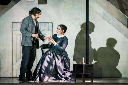 Sonya Yoncheva in Bohème alla Royal Opera House di Londra - Photo credit: Tristam Kenton