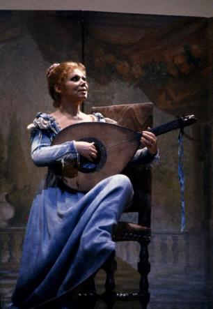 Mirella Freni è Alice Ford nel Falstaff alla Scala