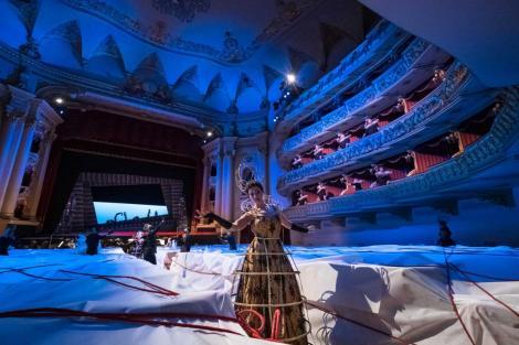 Josè Maria Lo Monaco in Dido and Aeneas al Filarmonico di Verona - Photo credit: Ennevi