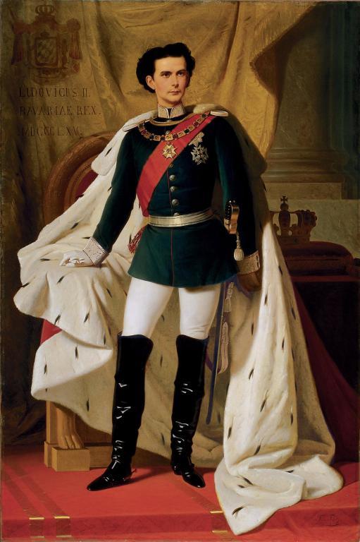 Ferdinand von Piloty, König Ludwig II