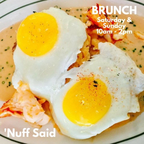 Connie and Ted's Brunch Saturday and Sunday 10am-2pm