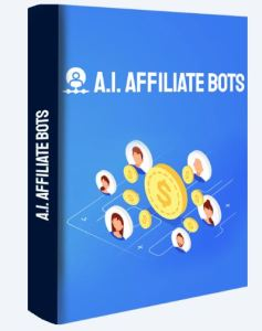 A.I. Affiliate Bots Image of packing box