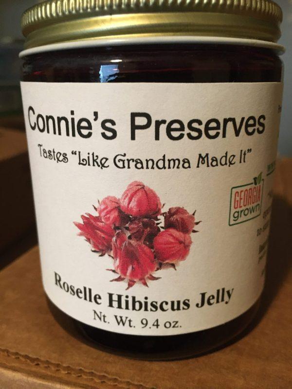 Connie's Jam Hibiscus Jelly