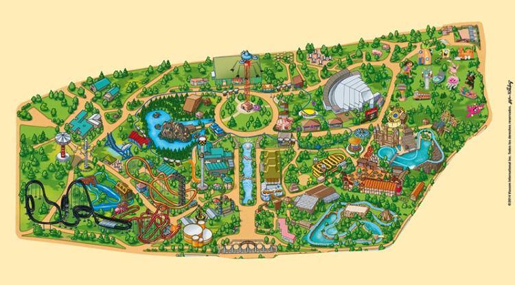 mapa-parque-atracciones-madrid
