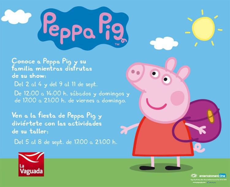 Peppa Pig en La Vaguada