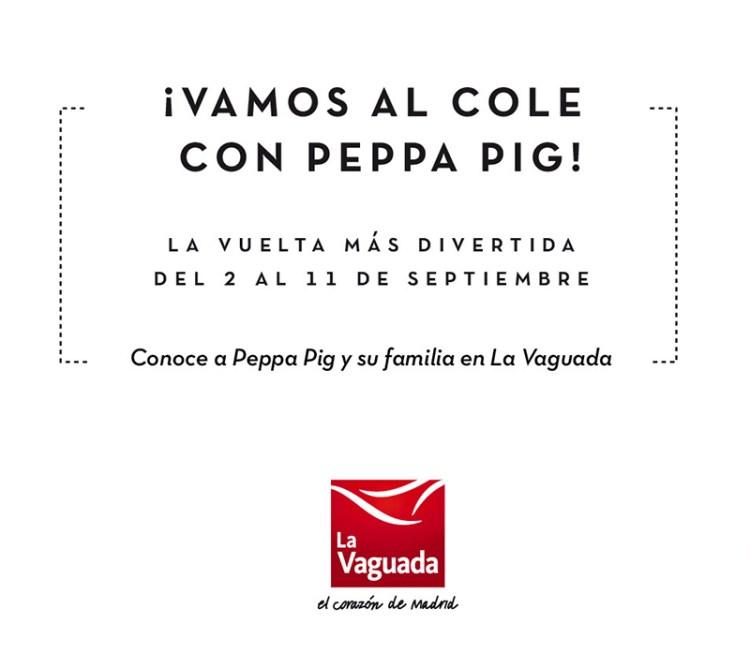 Vuelta al Cole con Peppa Pig
