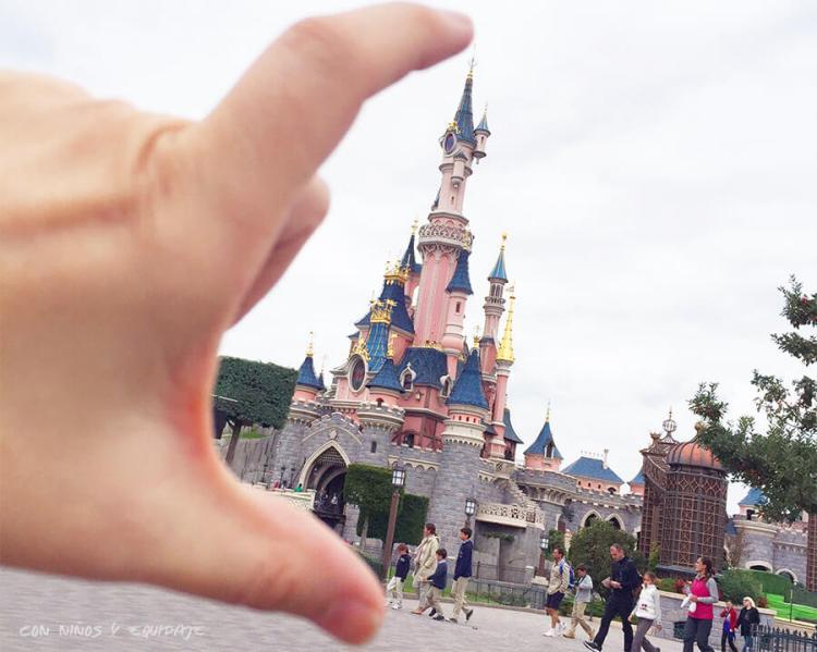 Castillo de la Bella Durmiente en Disneyland París