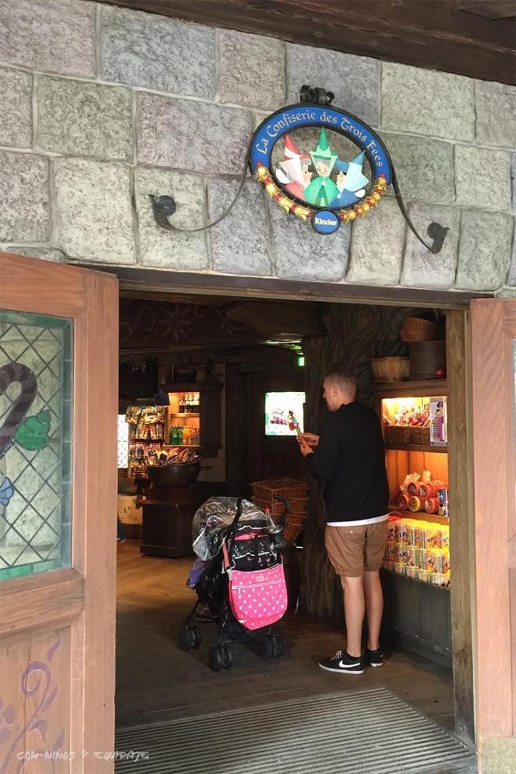 Confitería las Tres hadas - Misterios de Disneyland París