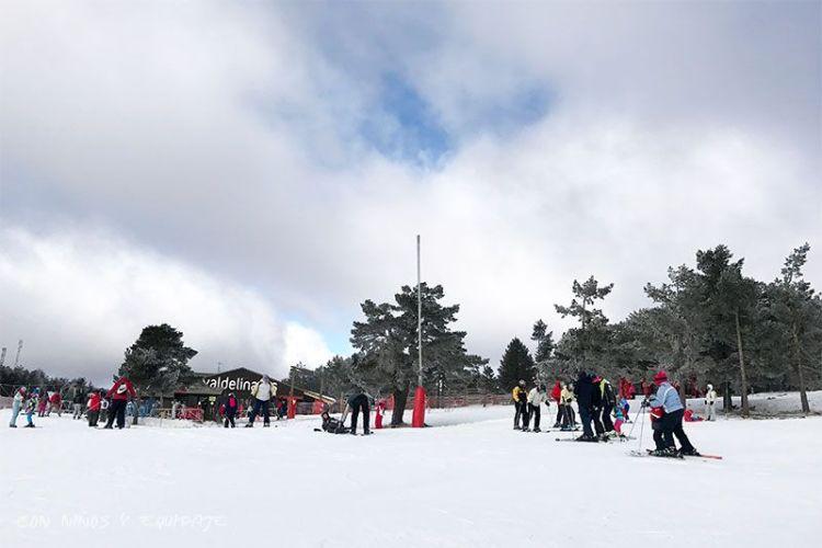 Esquiar en Valdelinares con niños