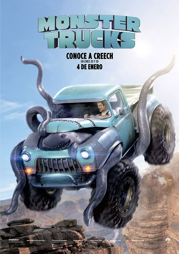 estrenos de cine - Monster Trucks