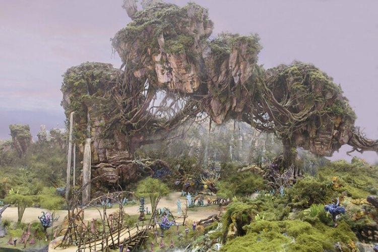 Montañas flotantes de Avatar