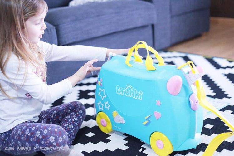 nueva maleta Trunki Unicornio