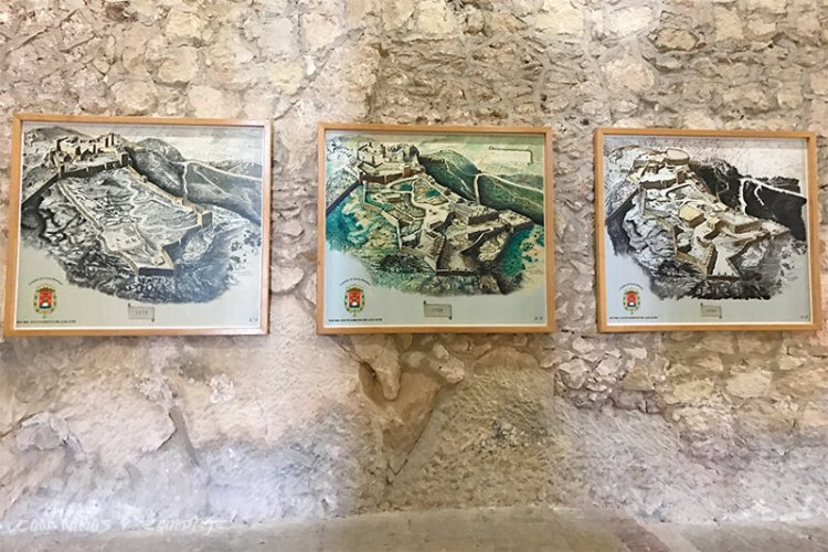 evolución del castillo de Santa Bárbara