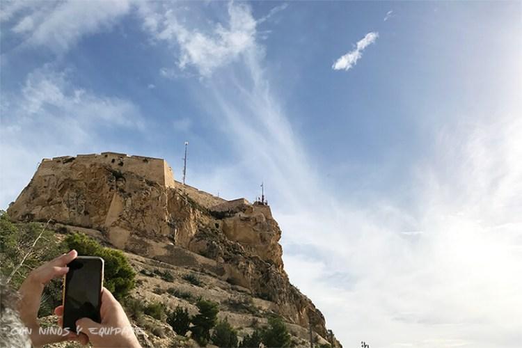 Vistas Castillo Santa Bárbara