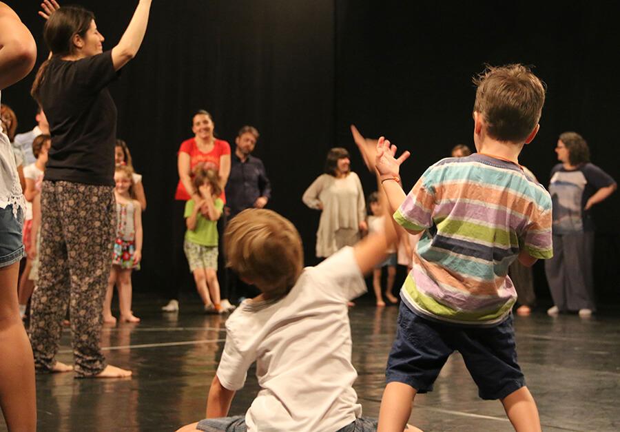 Talleres Urbanos de Teatro para Niños en Cuarta Pared
