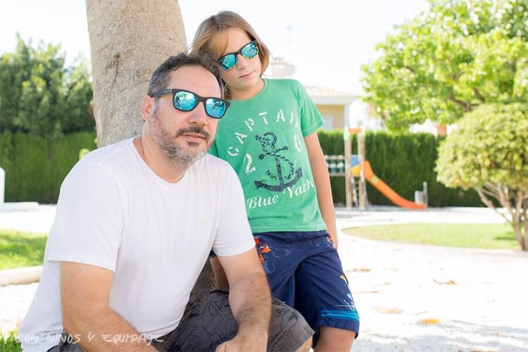 gafas de sol de Hot Wheels para padres e hijos de Skull Rider