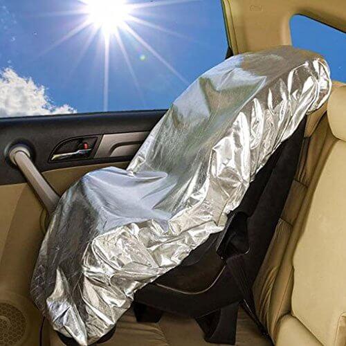 parasol silla de coche
