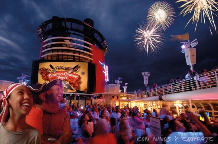 Cruceros Disney Fiesta Pirata