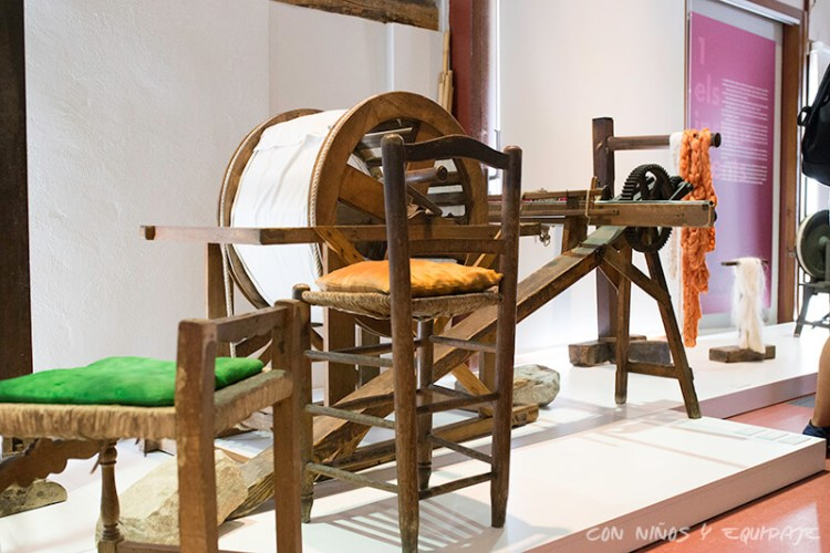 museo textil Ontinyent con Niños