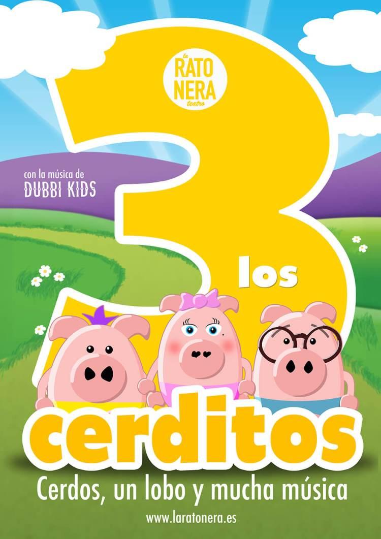 Los Tres Cerditos - El Musical