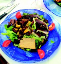 Foie Gras dish