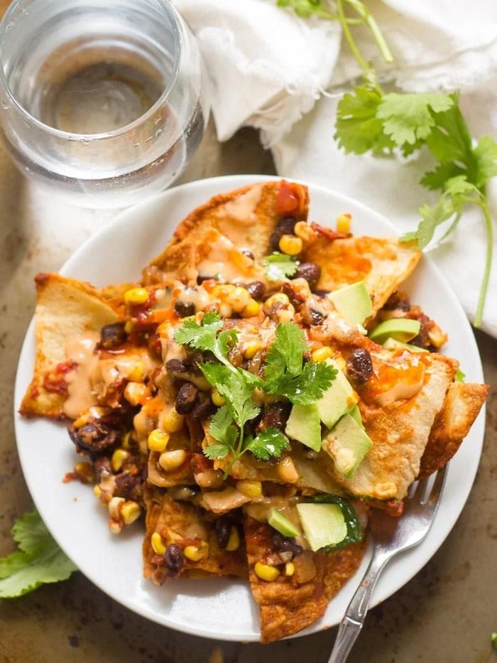 Bean Enchiladas And Veggie Black
