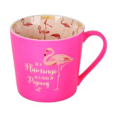 Dining Chair Seat Protectors Joovy Nook High Reviews Girl Talk Mug - Be A Flamingo In Flock Of Pigeons | Connollys Homestyle York