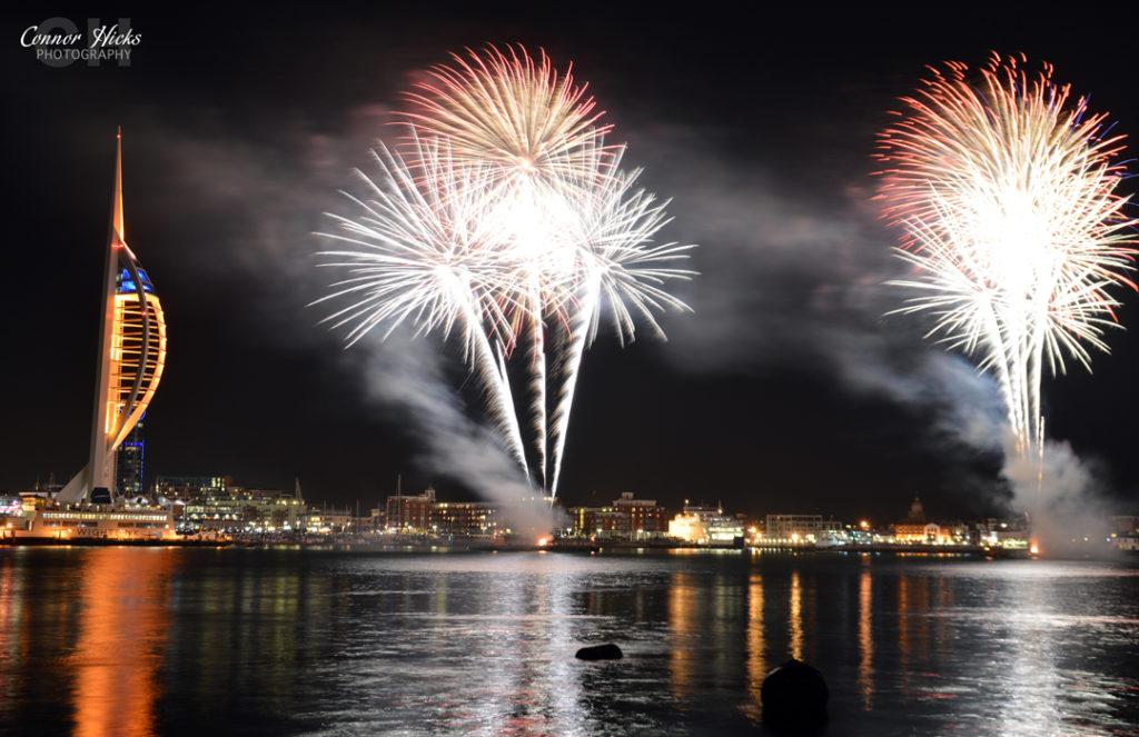 DSC 0045 311014 1024x663 Gunwharf fireworks display