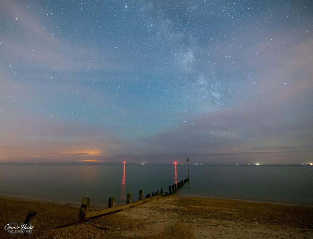 Hayling Island Milky Way Astrophotography Hampshire 1024x784 Astro