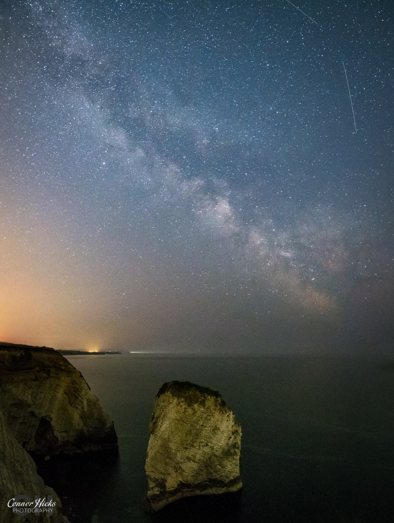 Milky Way Isle Of Wight Freshwater Bay 772x1024 Astro