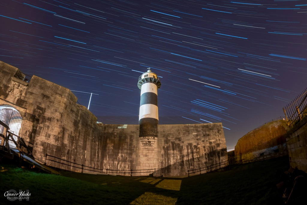 Southsea Castle Star Trails Astrophotography Portsmouth 1024x683 Astro