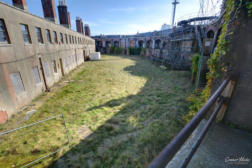 Fort Gilkicker Portsmouth Hampshire Urbex 4 1024x683 Fort Gilkicker, Gosport