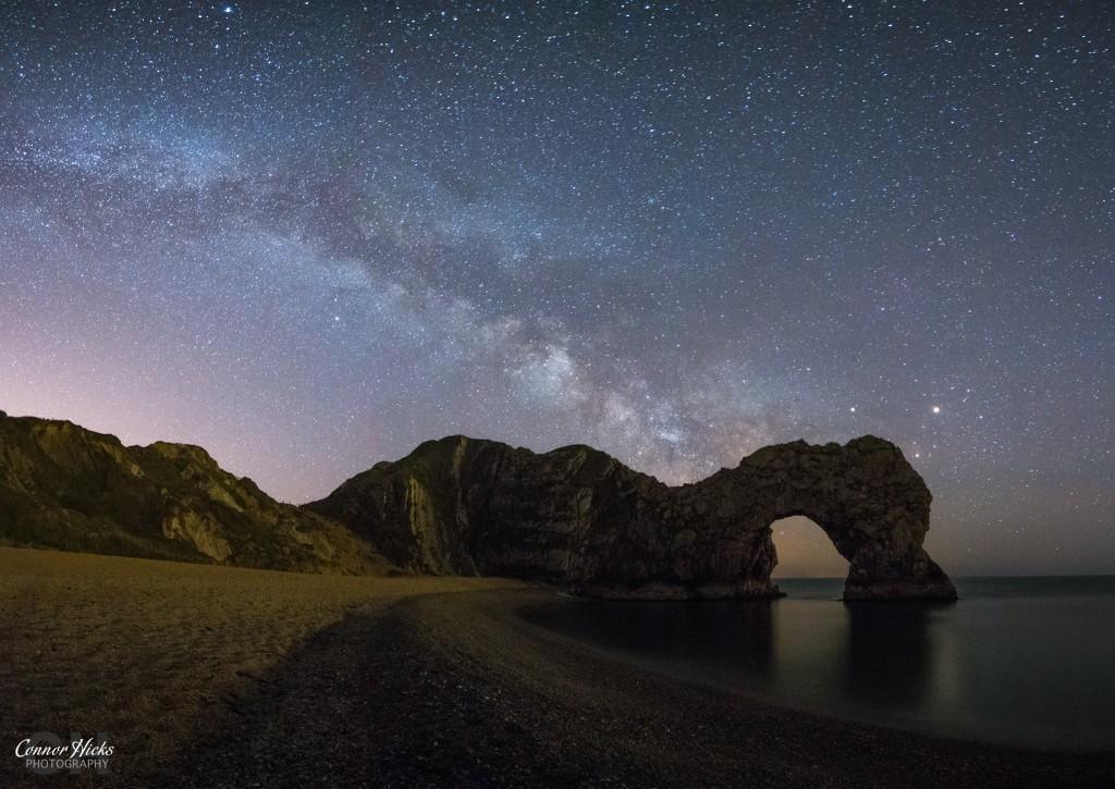 Durdle Door Milky Way Photograph 1024x725 Astro