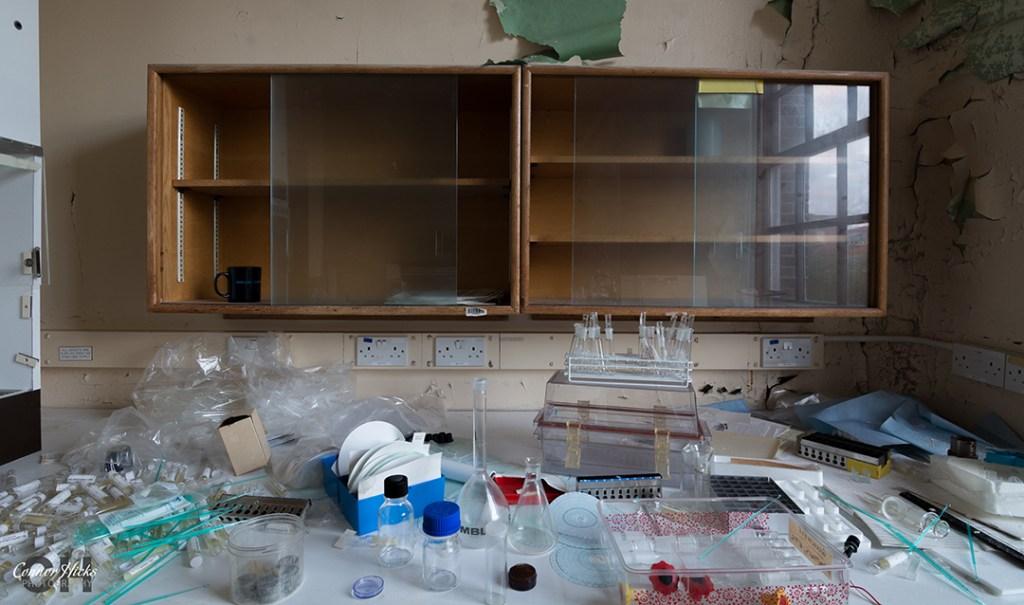 Haslar Hospital Hampshire Urbex Laboratory  1024x605 The Royal Hospital Haslar, Gosport