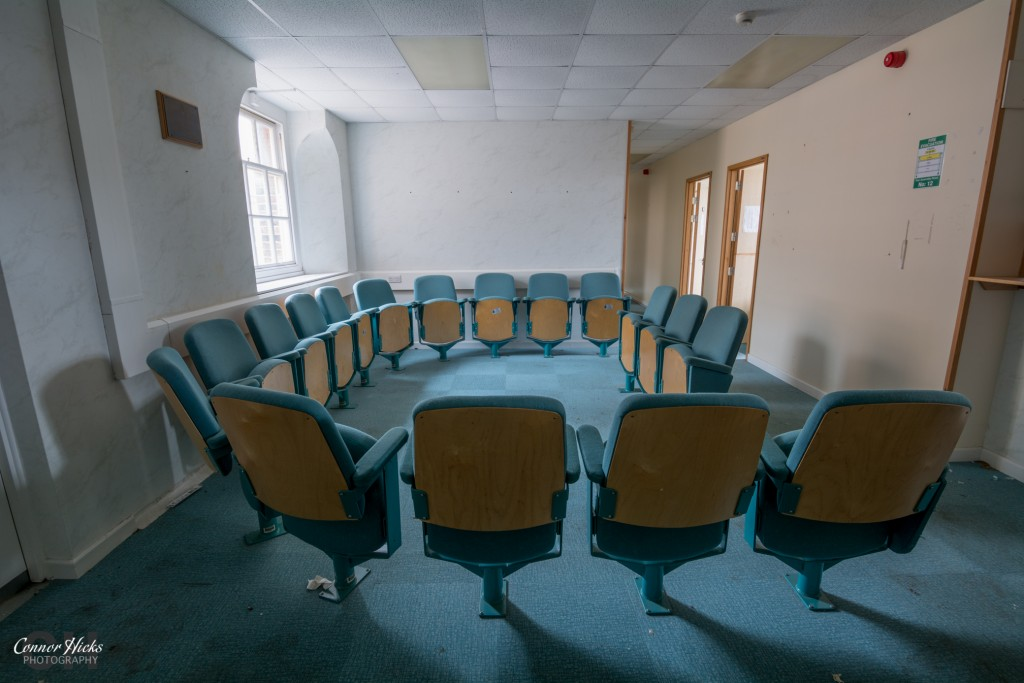Haslar Hospital Urbex Waiting Room 1024x683 The Royal Hospital Haslar, Gosport